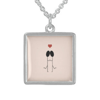 A Perfect Match Sterling Silver Necklace