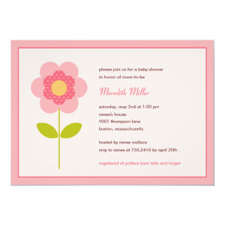 A Perfect Stem Baby Shower Invitation