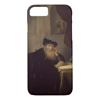 A Philosopher, 1635 (oil on panel) iPhone 7 Case