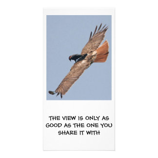 A Philosophical View Customized Photo Card