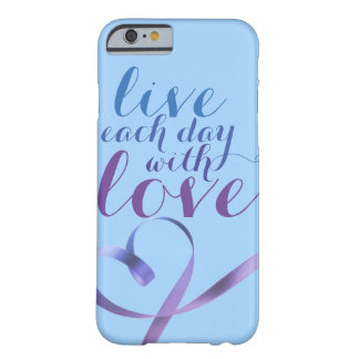 A philosophy to live by! barely there iPhone 6 case