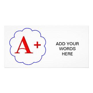 A+ PHOTO CARD TEMPLATE