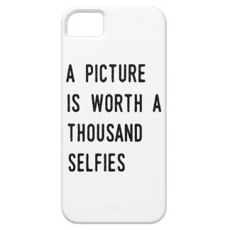 A Picture is Worth a Thousand Selfies iPhone 5 Cases