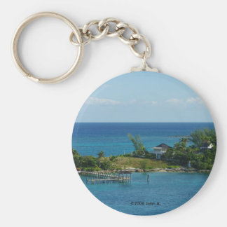 A Piece Of Paradise Keychain