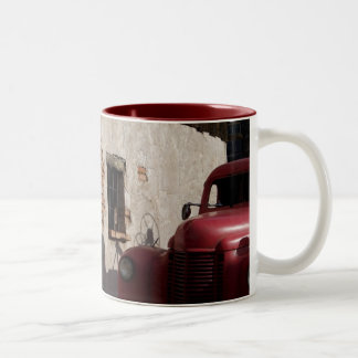 A Piece of the Past Two-Tone Coffee Mug