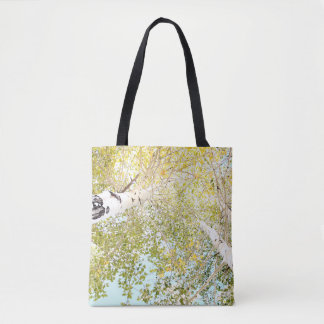A piece of the sky tote bag