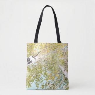 A piece of the sky tote bag