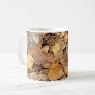 A Pile of Autumn Leaves Coffee Mug
