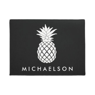 A Pineapple Welcome Doormat