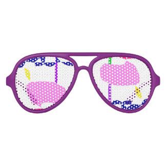 A Pink Fruit Aviator Sunglasses