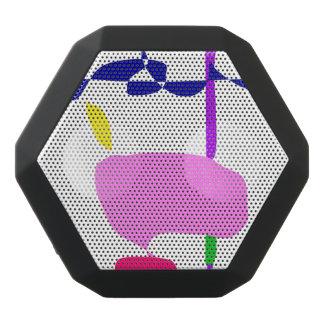 A Pink Fruit Black Bluetooth Speaker