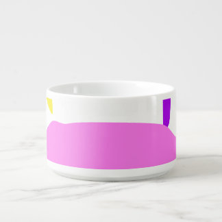 A Pink Fruit Bowl