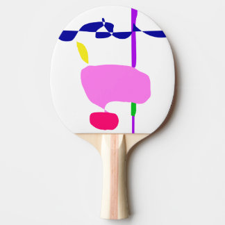 A Pink Fruit Ping Pong Paddle