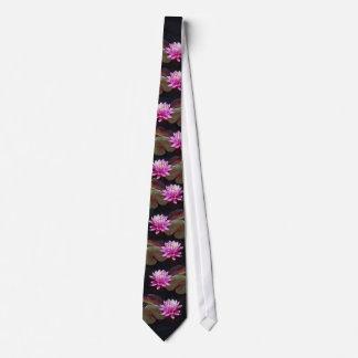 A Pink Lotus. Tie