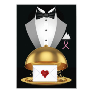 A Pink Ribbon Formal Invitation