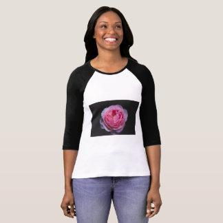 A pink rose flower T-Shirt