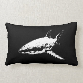 A Pirates Life doublesidedsharkpillow_1 Lumbar Pillow