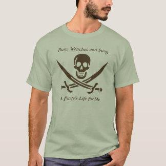 A Pirates Life natural t-shirt
