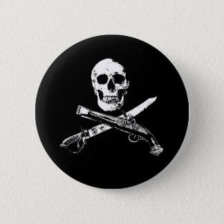 A Pirates Life SkullButton_1 2 Inch Round Button