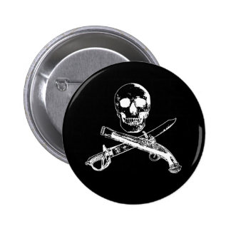 A Pirates Life SkullButton_2 2 Inch Round Button