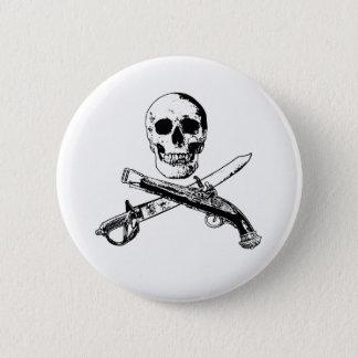 A Pirates Life SkullButton_3 2 Inch Round Button