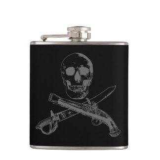 A Pirates Life skullflask_3 Hip Flask