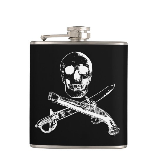 A Pirates Life skullflask_4 Flasks