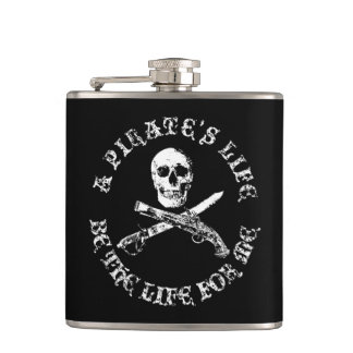 A Pirates Life skullflask_5 Hip Flask