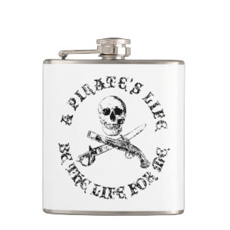 A Pirates Life skullflask_9 Hip Flask