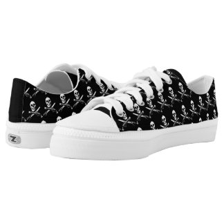 A Pirates Life skullshoes_1 Low-Top Sneakers