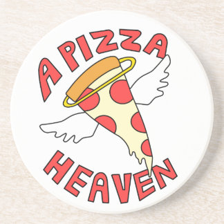 A Pizza Heaven Coaster