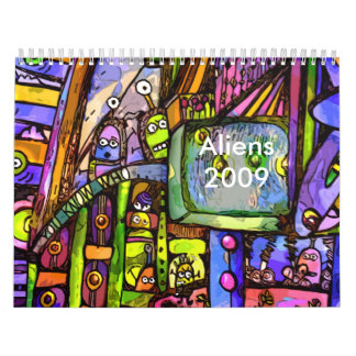 A place for aliens2, Aliens2009 - Customized Calendar