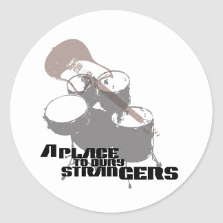 A Place to Bury Strangers Band Elements Sticker