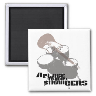 A Place to Bury Strangers Band Elements T Shirt Square Magnet