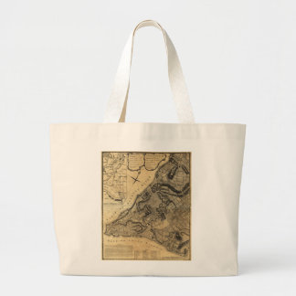 A Plan of the City of New York Map (1766) Jumbo Tote Bag