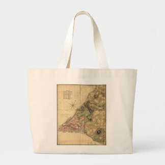 A Plan of the City of New York Map (1776) Jumbo Tote Bag