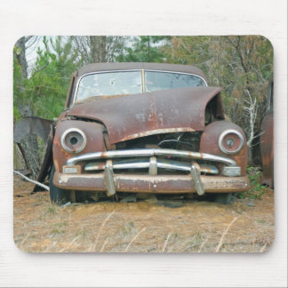 A Plymouth Rusted Remains Mouse Pad