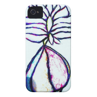 A Polyphonic Lotus Heart by Luminosity iPhone 4 Case