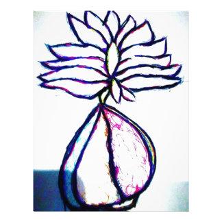 A Polyphonic Lotus Heart by Luminosity Letterhead