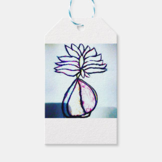 A Polyphonic Lotus Heart by Luminosity Pack Of Gift Tags