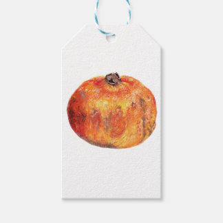 A popegranite gift tags