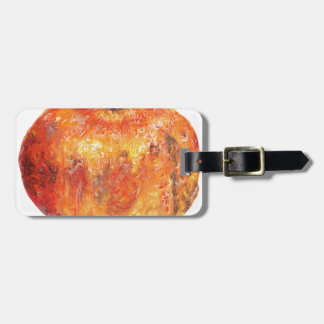 A popegranite luggage tag