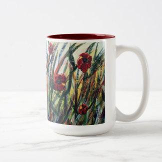 A Poppy Habit - Java Mug