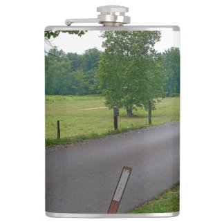 A popular Country Road at Cades Cove The Great Smo Flask