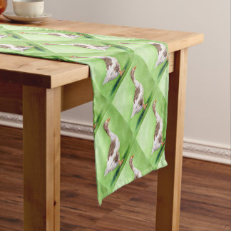 A Portrait of a Goose Short Table Runner