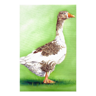 A Portrait of a Goose Stationery