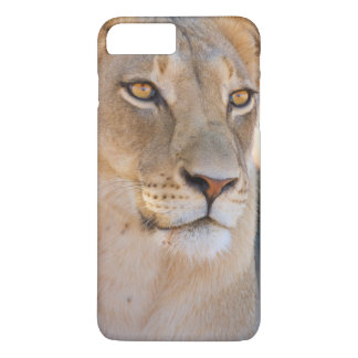 A portrait of a Lioness looking into the distance iPhone 8 Plus/7 Plus Case