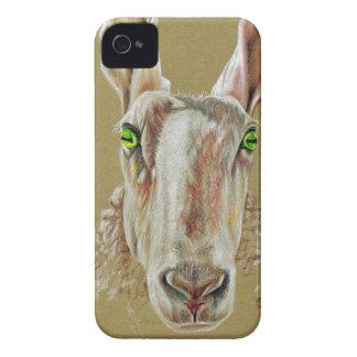 A portrait of a sheep iPhone 4 Case-Mate case