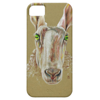 A portrait of a sheep iPhone 5 case