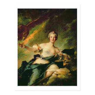 A Portrait of Anne Josephe Bonnnier de la Mossau ( Postcard